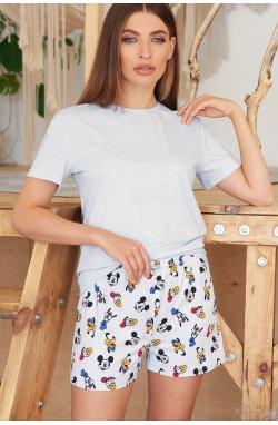 Пижама Джой-2 - GLEM, голубой-Микки Маус