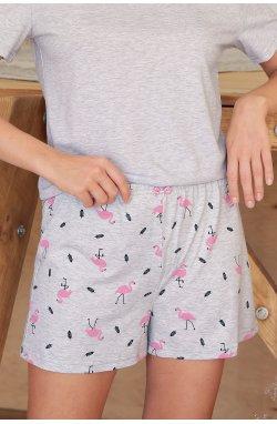 Пижама Джой-2 - GLEM, серый-фламинго