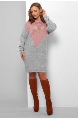 Платье 181 - GLEM, роза-т.серый
