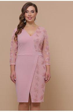 Платье Лария-Б д/р - GLEM, лиловый