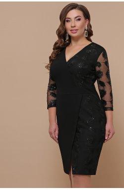 Платье Лария-Б д/р - GLEM, черный