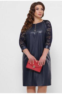 Платье Меган-Б д/р - GLEM, синий