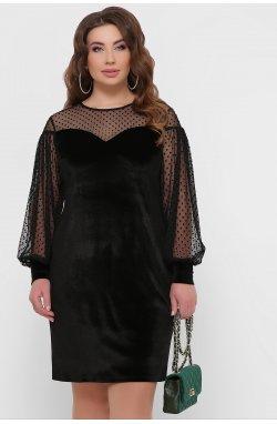 Платье Медея-Б д/р - GLEM, черный