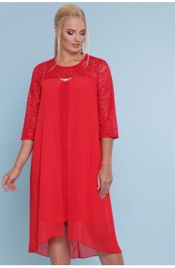 Платье Муза-Б 3/4 - GLEM, красный