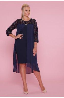 Платье Муза-Б 3/4 - GLEM, синий