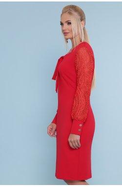 Платье Нелли-Б д/р - GLEM, красный