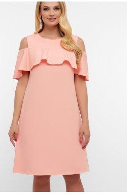 Платье Ольбия-Б б/р - GLEM, персик