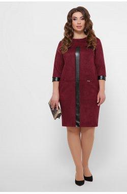 Платье Руфина-Б д/р - GLEM, бордо