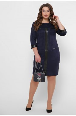 Платье Руфина-Б д/р - GLEM, синий
