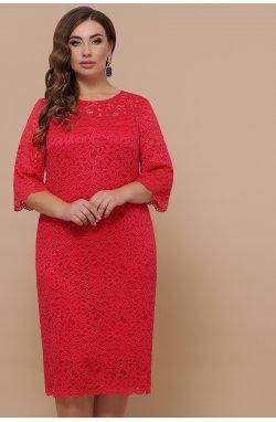 Платье Сания-Б 3/4 - GLEM, красный