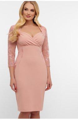 Платье Сусанна-1Б д/р - GLEM, лиловый