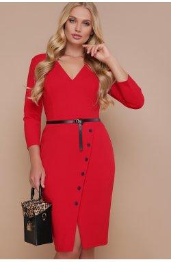 Платье Элария-Б д/р - GLEM, красный
