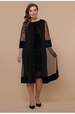 Платье Элеонора-Б б/р - GLEM, черный