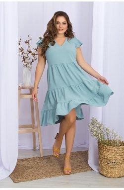 Платье Ярия-Б б/р - GLEM, св.бирюзовый