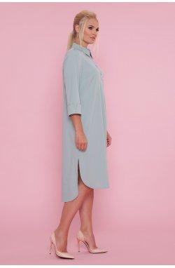 Платье-рубашка Власта-Б 3/4 - GLEM, оливковый