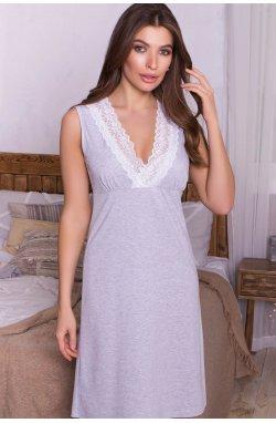 Сорочка Нидия б/р - GLEM, серый