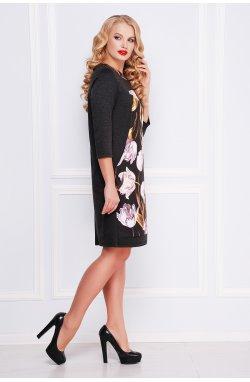 Тюльпан Платье Матильда-Б д/р - GLEM, темно серый
