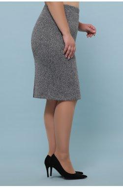 Юбка мод. №20-1 Б - GLEM, серый