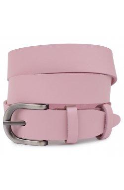 Современный женский ремень Vintage 20787 Розовый
