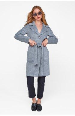 Пальто женское Бонни серый - Зима