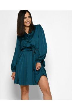 Платье Carica KP-10381-2 - Цвет Морская волна