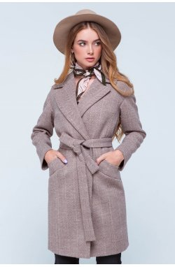 Пальто женское Джил марсала - Демисезон