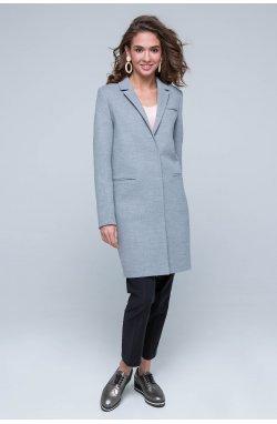 Пальто женское Бьянка серый - Весна-Осень