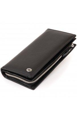 Вертикальный кошелек кожаный женский ST Leather 19274