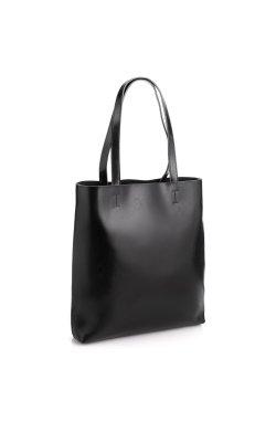Сумка женская шоппер кожаная Grays GR-2002A - натуральная кожа, черный