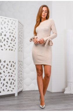 Платье Carica КР-10083-10 - Цвет Бежевый