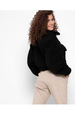 Куртка из овчины X-Woyz LS-8888-8 - Цвет Черный