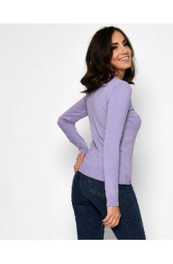 Пуловер Carica SV-6927-23 - Цвет Сирень