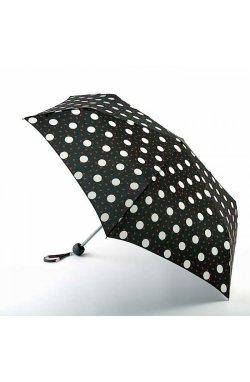 Зонт женский Lulu Guinness by Fulton Minilite-2 L869 Polka Lips (Горошек)