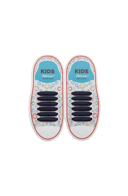 Дитячі прямі силіконові шнурки (антишнурки) для кросівок и кед