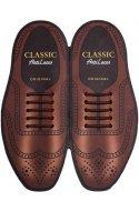 Силиконовые шнурки (антишнурки) для классических туфель