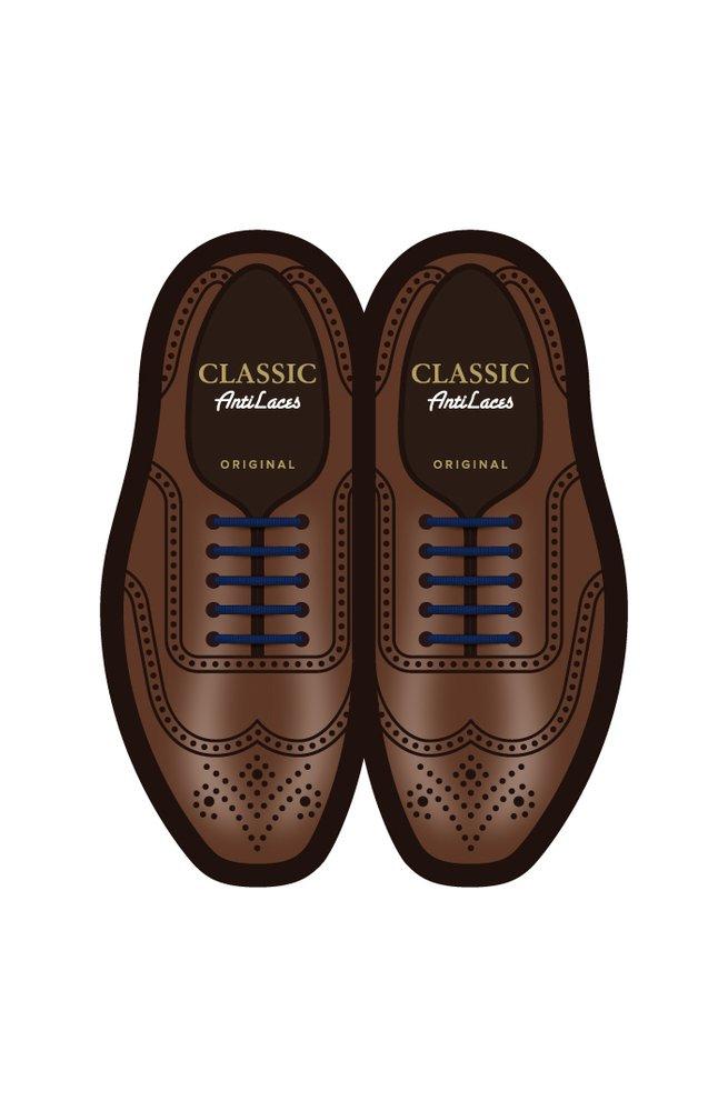 Силіконові шнурки (антишнурки) для класичних туфель