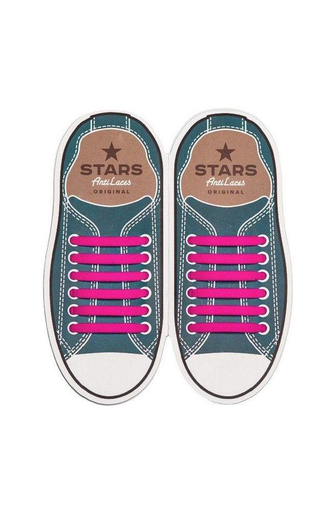 Прямые силиконовые шнурки (антишнурки) для кроссовок и кед