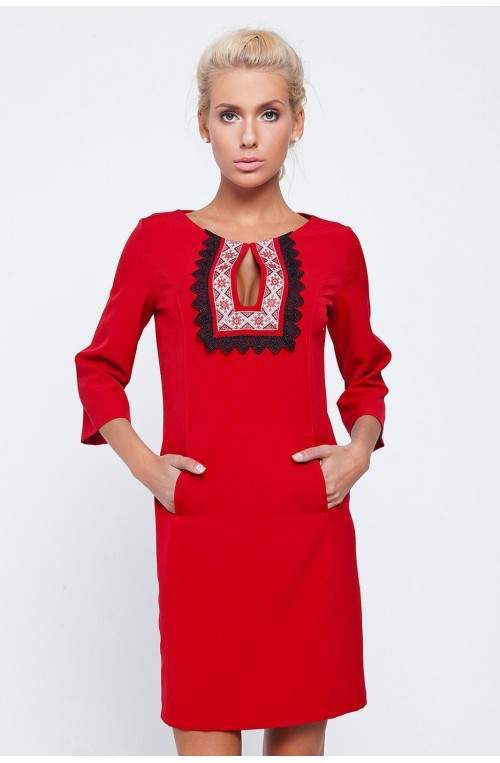 Платье Pretty Woman 134-pw01 Красный