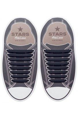 Косі силиконові шнурки (антишнурки) для кросівок и кед