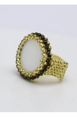 Бижутерия комплект серьги и кольцо
