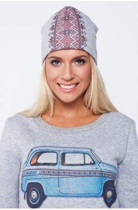 Шапка ОРНАМЕНТ вертикальный