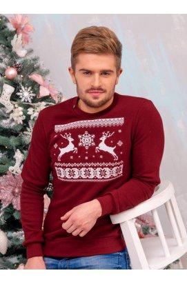 Свитшот Рождественский с оленями
