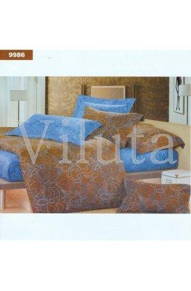 Постельное белье комплект ранфорс 9986 семейный