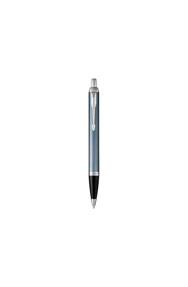 Шариковая ручка Parker IM 17 Light Blue Grey CT BP 22 532