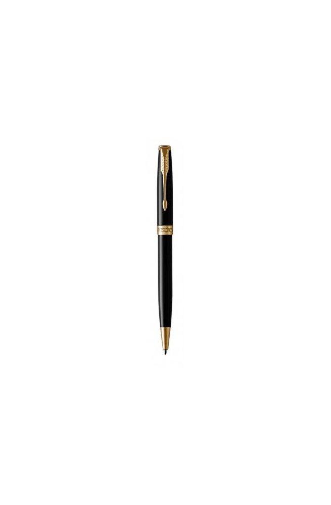 Шариковая ручка Parker SONNET 17 Black Lacquer GT BP 86 032