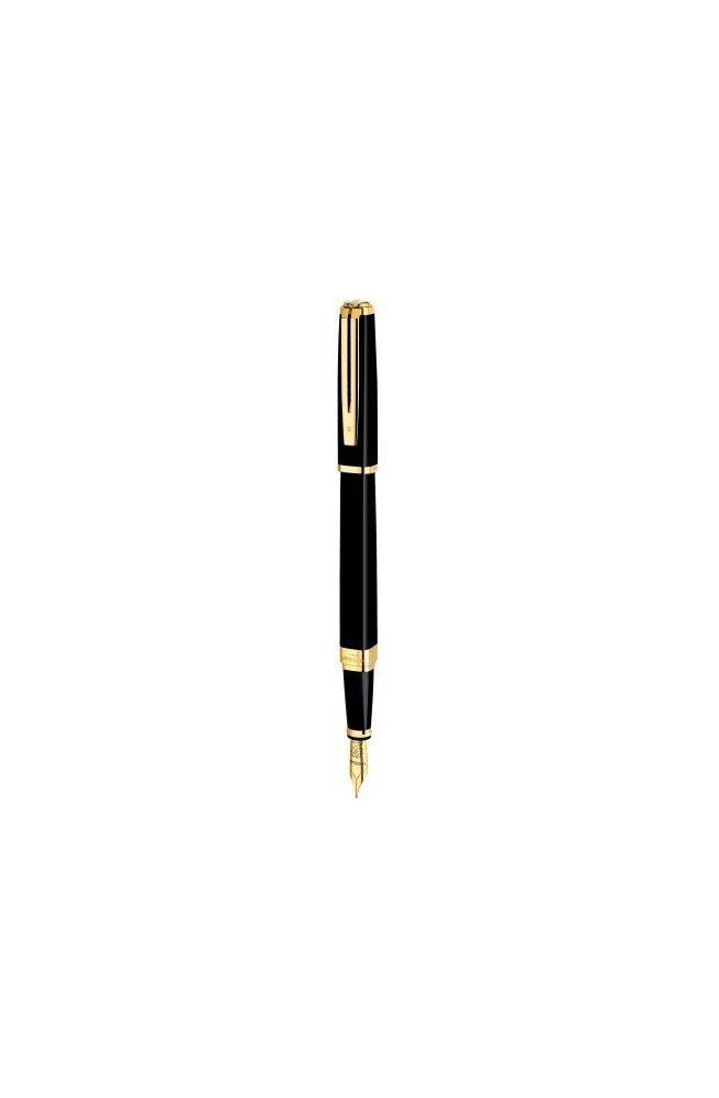 Перьевая ручка Waterman EXCEPTION Slim Black GT FP 11 028