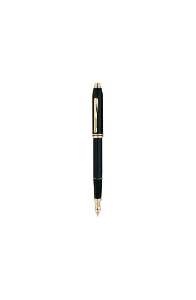 Перьевая ручка Cross TOWNSEND Lacq. Black FP Cr57600f