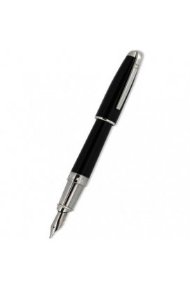 Перьевая ручка ST Dupont Olympio XL Diamonds Black Ch.Lacquer PP FP Du481675m