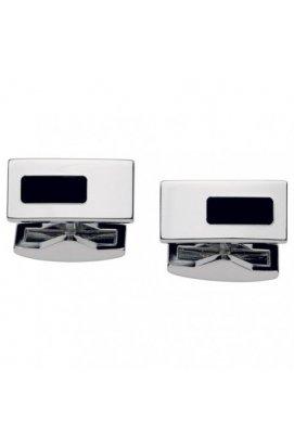 Запонки ST Dupont White Silver Design Du5275n