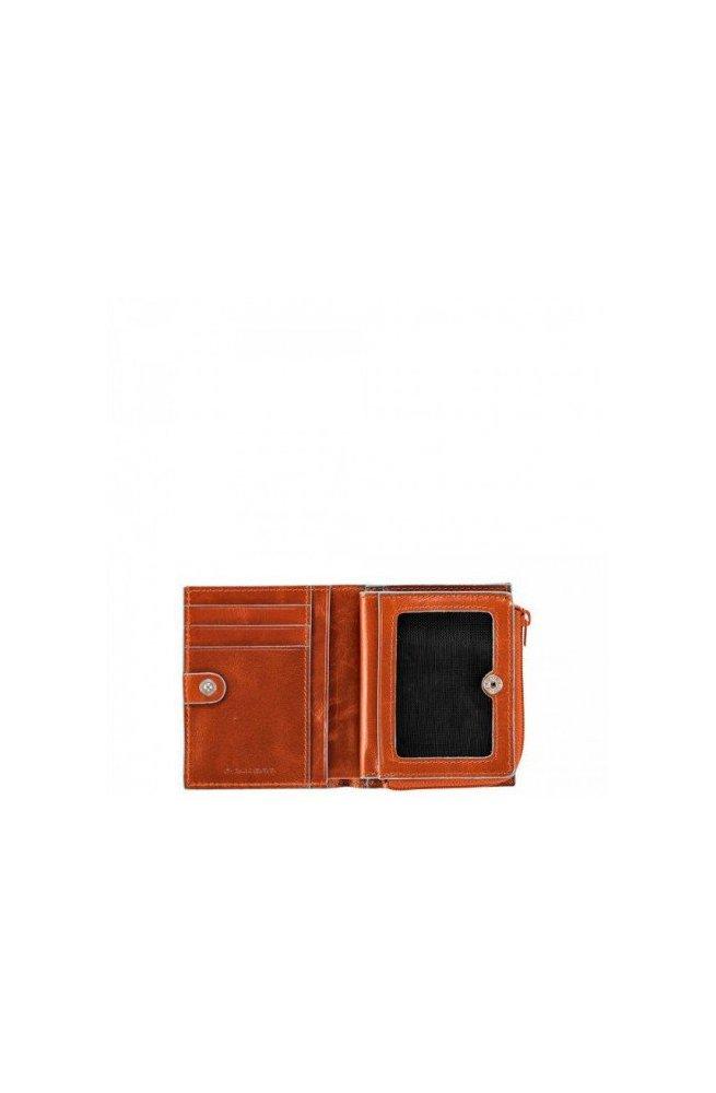 Кредитница Piquadro на молнии BL SQUARE/Orange PP1351B2_AR